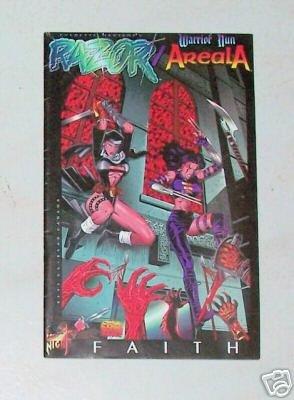 Razor Warrior Nun Areala Faith 1996 London Night Comics