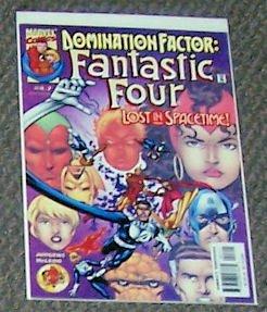 Fantastic Four Lost In Spacetime Vol. 1 No. 4 Feb 2000