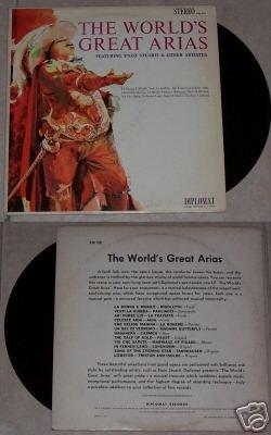 The Worlds Great Arias Enzo Stuarti Music Album LP 33