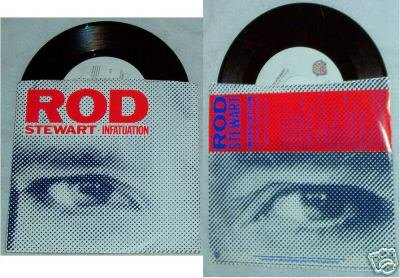 Rod Stewart Infatuation Original Sleeve 45 Rpm Record