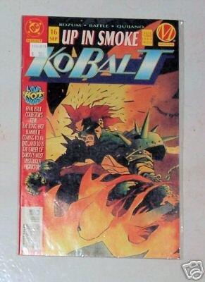 NEW Kobalt #16 Up In Smoke September DC Comics