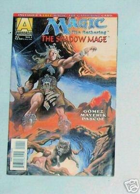 Magic The Gathering The Shadow Mage Vol.1 No.1 July 95