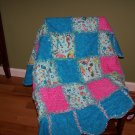 Scalloped Edged Rag Quilt