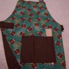 Football Child's Apron with Velcro Closure