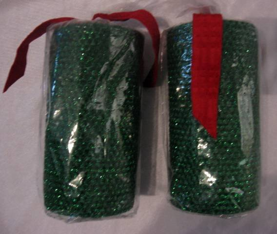 Bath & Body Works CHRISTMAS TREE PILLAR CANDLE x 2 150h