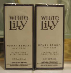 Bath & Body Works HENRI BENDEL WHITE LILY OIL X2