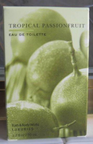 Bath Body Works TROPICAL PASSIONFRUIT EDT Perfume 1.7oz NEW!
