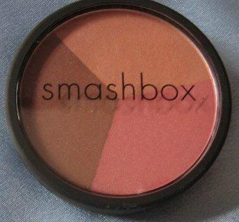 SMASHBOX BLUSH Trio Lights Up 4 Peach Rose Bronze NEW!