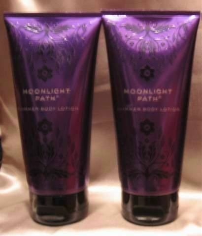 Bath & Body Works MOONLIGHT PATH SHIMMER LOTION x 2