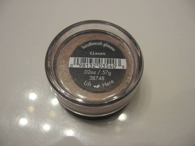 Bare Escentuals Minerals EYE SHADOW FLAUNT GLIMMER