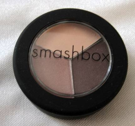SMASHBOX Eye Shadow Trio DESIGNER Pearl Rose Eggplant
