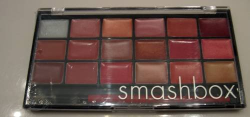 SMASHBOX Lip Service LIPSTICK PALETTE #2 w/ BRUSH #6