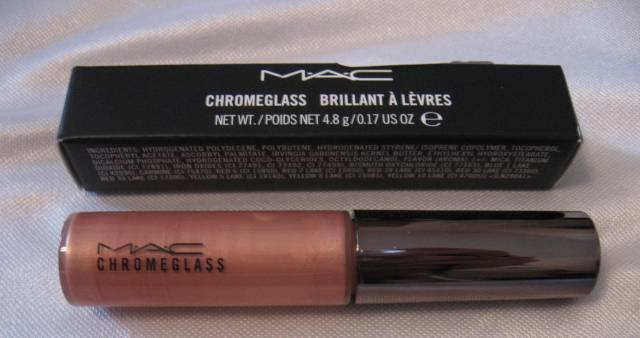 MAC Chromeglass Lip Gloss BRONZIBAR!  NEW IN BOX!