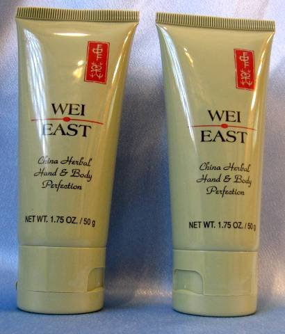 WEI EAST China Herbal Hand & Body Perfection 1.75oz X2