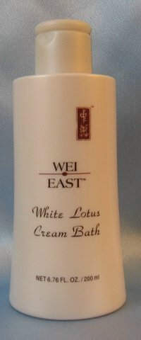 WEI EAST White Lotus CREAM BATH 6.76 oz w/ Peppermint