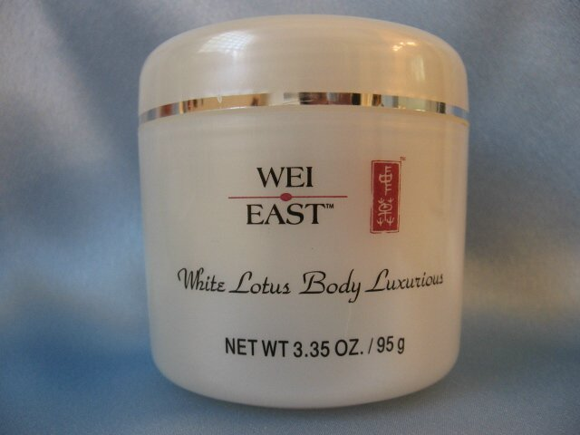 WEI EAST White Lotus RICH BODY LUXURIOUS CREAM 3.25 oz