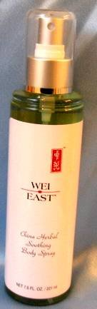WEI EAST CHINA HERBAL Soothing Refreshing  Body Spray