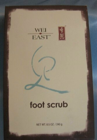 WEI EAST FOOT SCRUB with Green Tea Peppermint Sea Salt