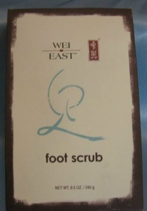 WEI EAST FOOT SCRUB with Green Tea Peppermint Sea Salt