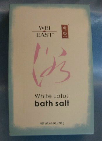 WEI EAST WHITE LOTUS Bath Salt with Sea Salt NEW!