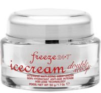 FREEZE 24/7 IceCream Double Scoop AntiAging Moisturizer