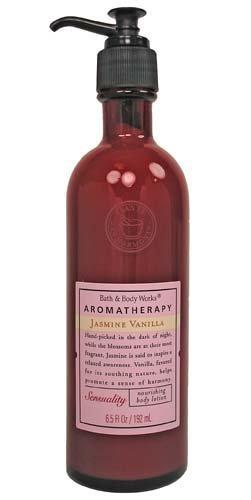 Bath & Body Works Aromatherapy Jasmine Vanilla Sensuality Nourishing Body Lotion 6.5 oz