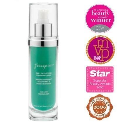 Freeze 24-7 Skin Glace Daily Detoxifying Cleanser & Mask 3.3 oz.
