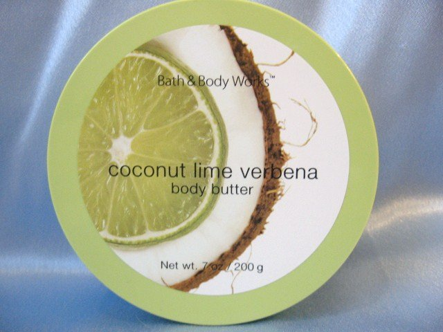 Bath and Body Works Coconut Lime Verbena Body Butter
