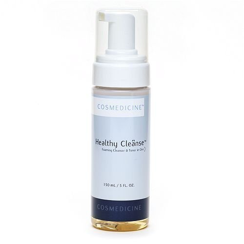 Cosmedicine Healthy Cleanse Foaming Cleanser & Toner in One 5 Fl Oz (150 Ml)
