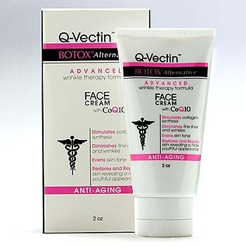 Q-Vectin Face Cream BOTOX Alternative Wrinkle Therapy