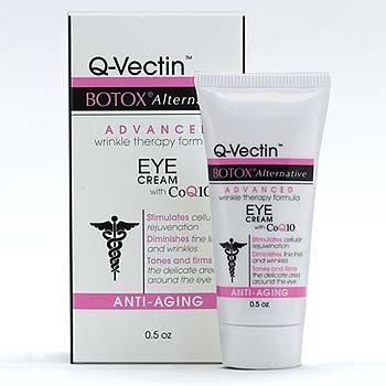 Q-Vectin Eye Cream BOTOX Alternative Wrinkle Therapy