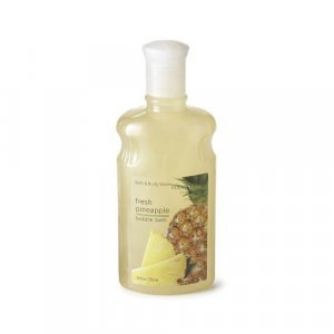 BATH & BODY WORKS PLEASURES Bubble Bath, FRESH PINEAPPLE 10 oz