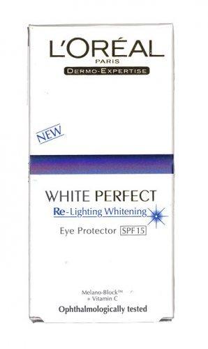 Loreal White Perfect Re-lighting Eye Protector SPF15