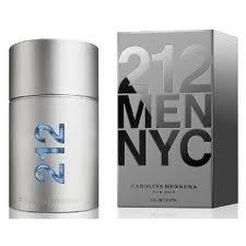 212 by Carolina Herrera for Men Eau de Toilette Spray 1.7 oz