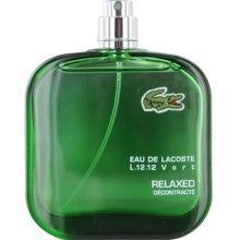 Eau De Lacoste Vert by Lacoste TESTER for Men EDT Spray 3.4 oz