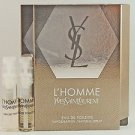 2 L'Homme YSL by Yves Saint Laurent for Men EDT Sample 0.05 oz