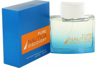 Nautica Pure Discovery by Nautica for Men EDT Spray 3.4 oz