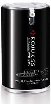 Rojukiss Protox 3 Wrinkle Solution One-Step Action Day & Night� Serum & Cream For Men