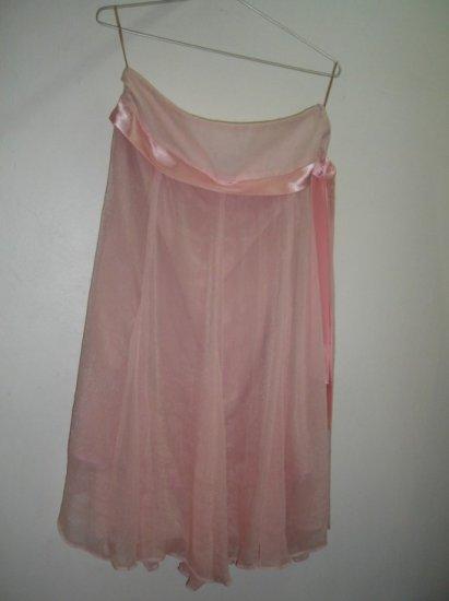 Skirt in poly silk