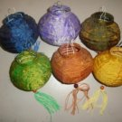 Small lantern in silk