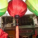 Red silk lantern (40 cm dimension)