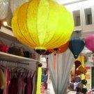 Silk lantern with 55cm dimension