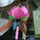 Hanged lotus lamp