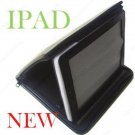 Leather Case Bag Stand Book with zipper for Apple iPad