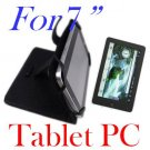 Leather Case Cover for 7 inch Android Tablet PC iRobot
