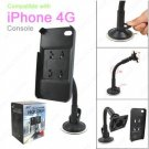 NEW CAR MOUNT STAND HOLDER CRADLE FOR Apple iPhone 4 4G