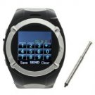 MQ998 Quad Band Single Card with FM Touch Screen Watch Phone(Black)