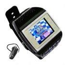 ET-3 Quad Band Dual Cards FM Bluetooth Watch Phone