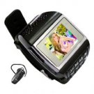ET-1 Quad Band Single Card FM Bluetooth Watch Phone