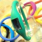 Waterproof Minus Ion Sport Bracelet Watch Emerald Green